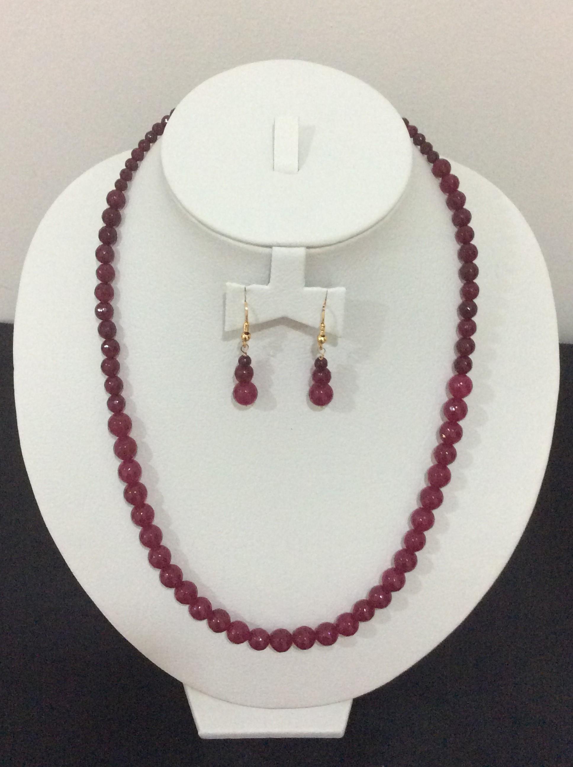 Brand-new Handmade Semi-Precious Bead Fashion Jewelry-03 | Tulasi Trendz CR34