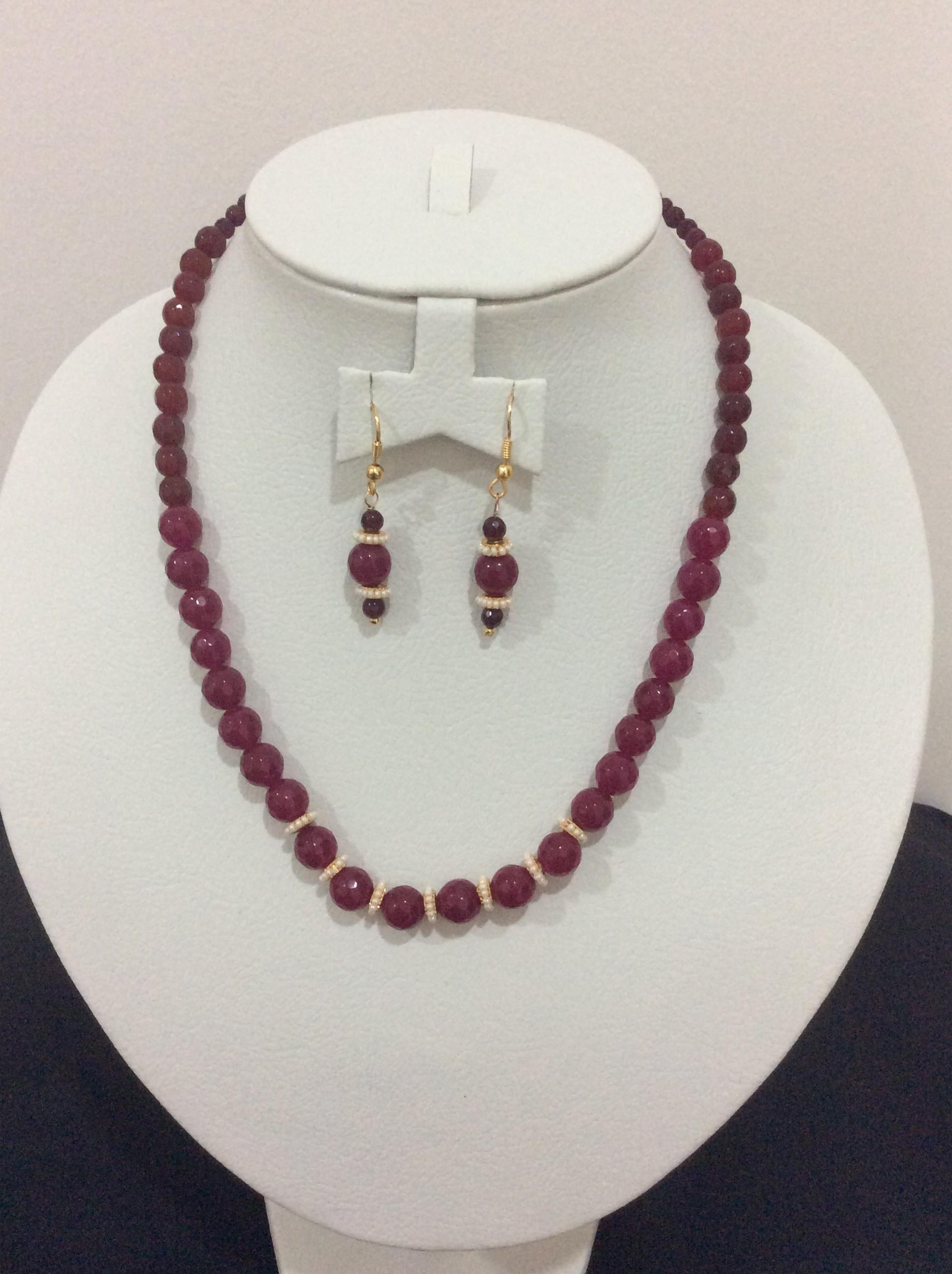 Finest Handmade Semi-Precious Bead Fashion Jewelry | Tulasi Trendz QC84